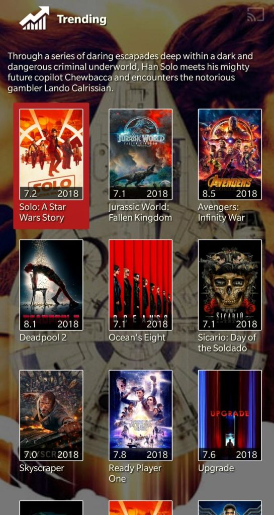 latest movies on iphone
