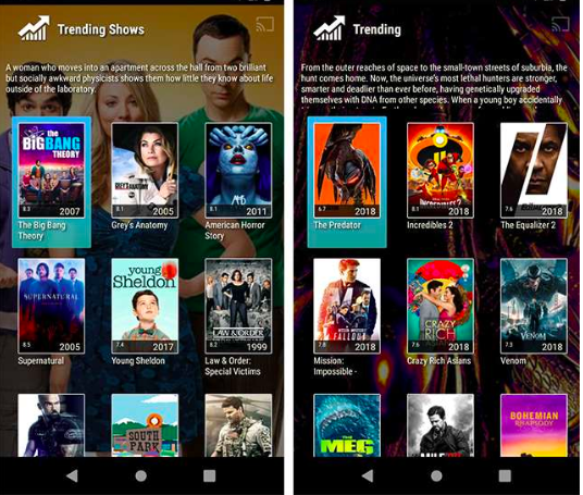 Morph TV APK Movies
