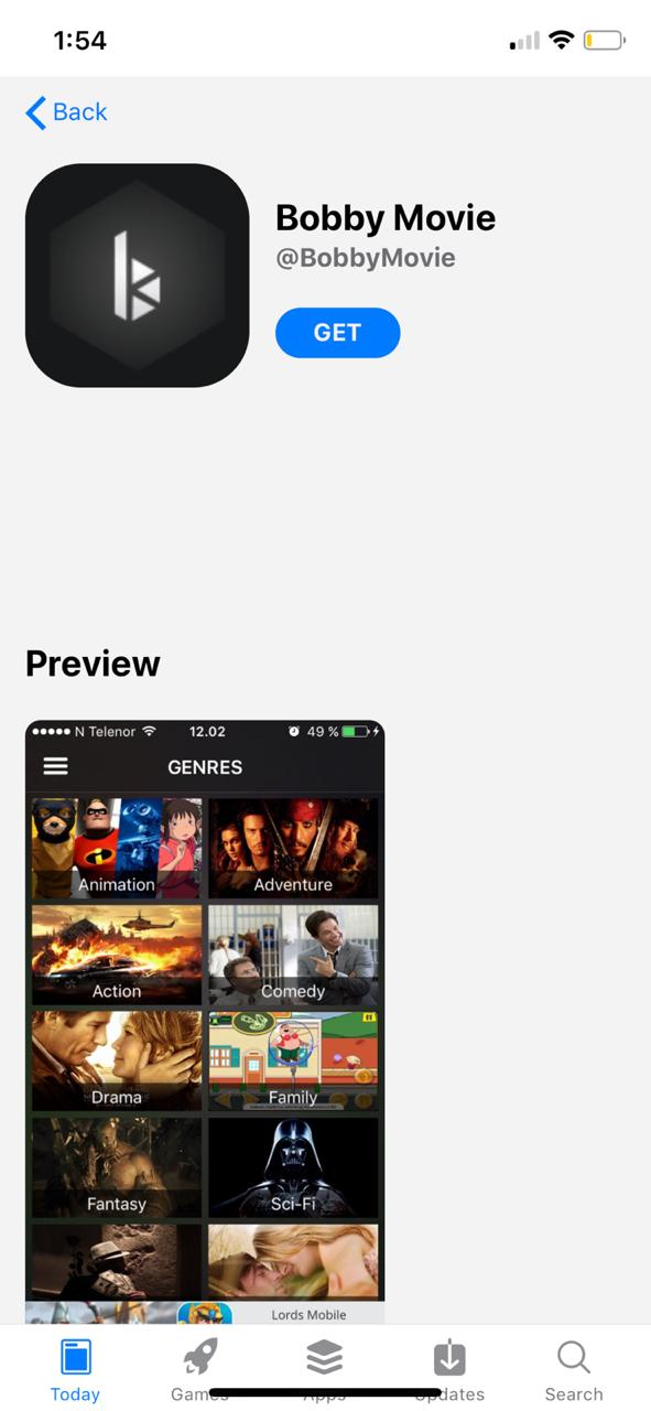 COTO MOVIES UPDATED FOR IOS