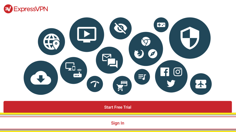 sign in to express vpn account