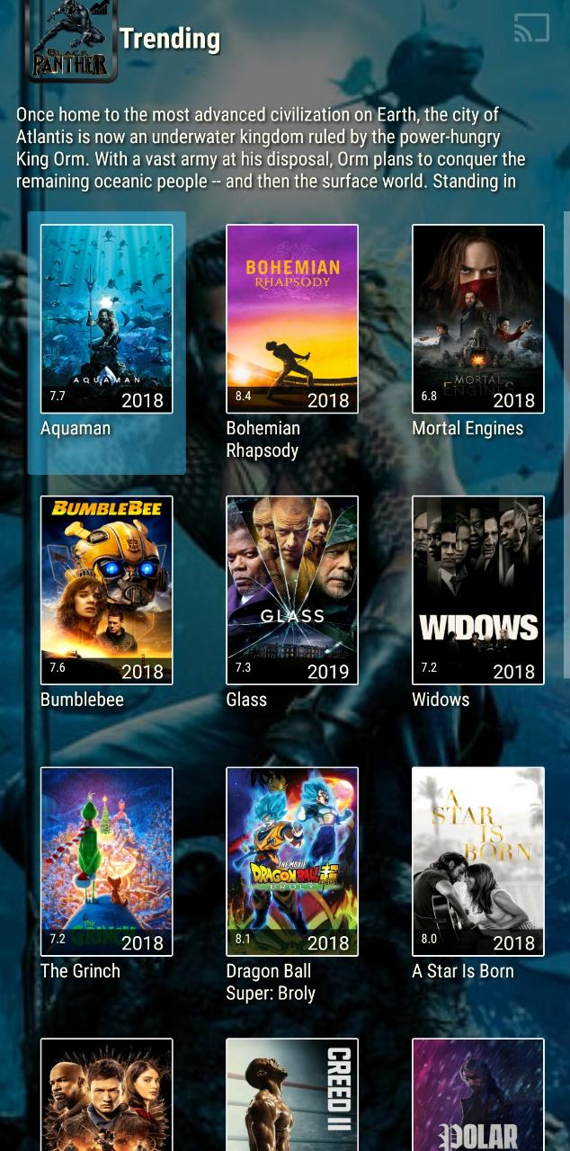 DOWNLOAD BLACK PANTHER TV APK