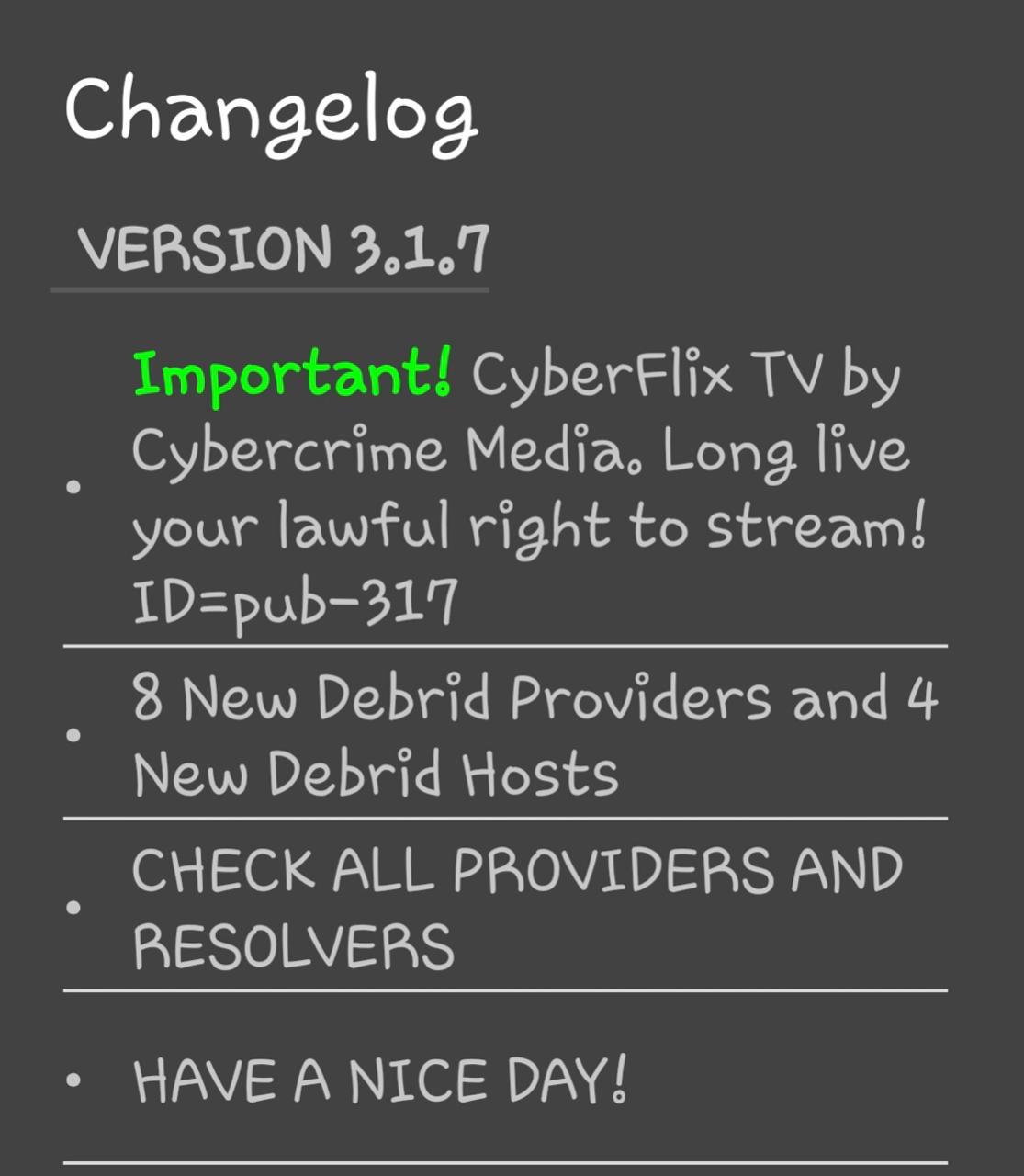 Download CYBERFLIX TV APK v3 1 8 (Latest Download Links)