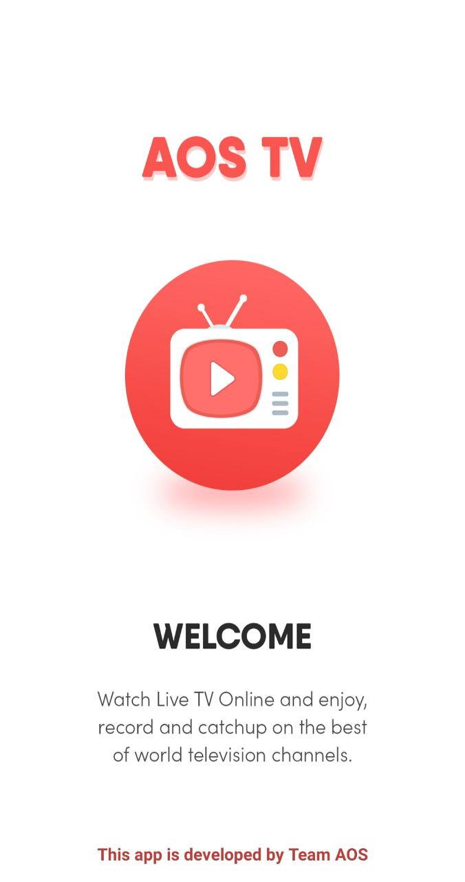 latest AOS TV APK