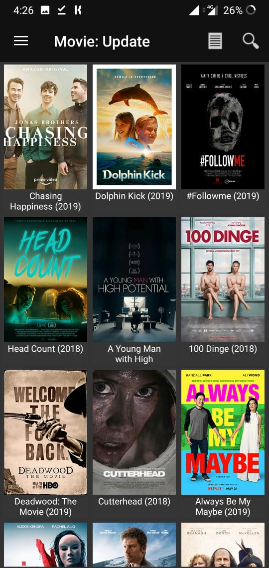 Movie HD APK Movies and TV Shows