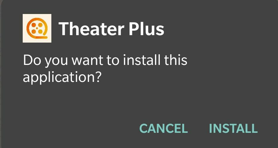 Install Theater Plus APK Android