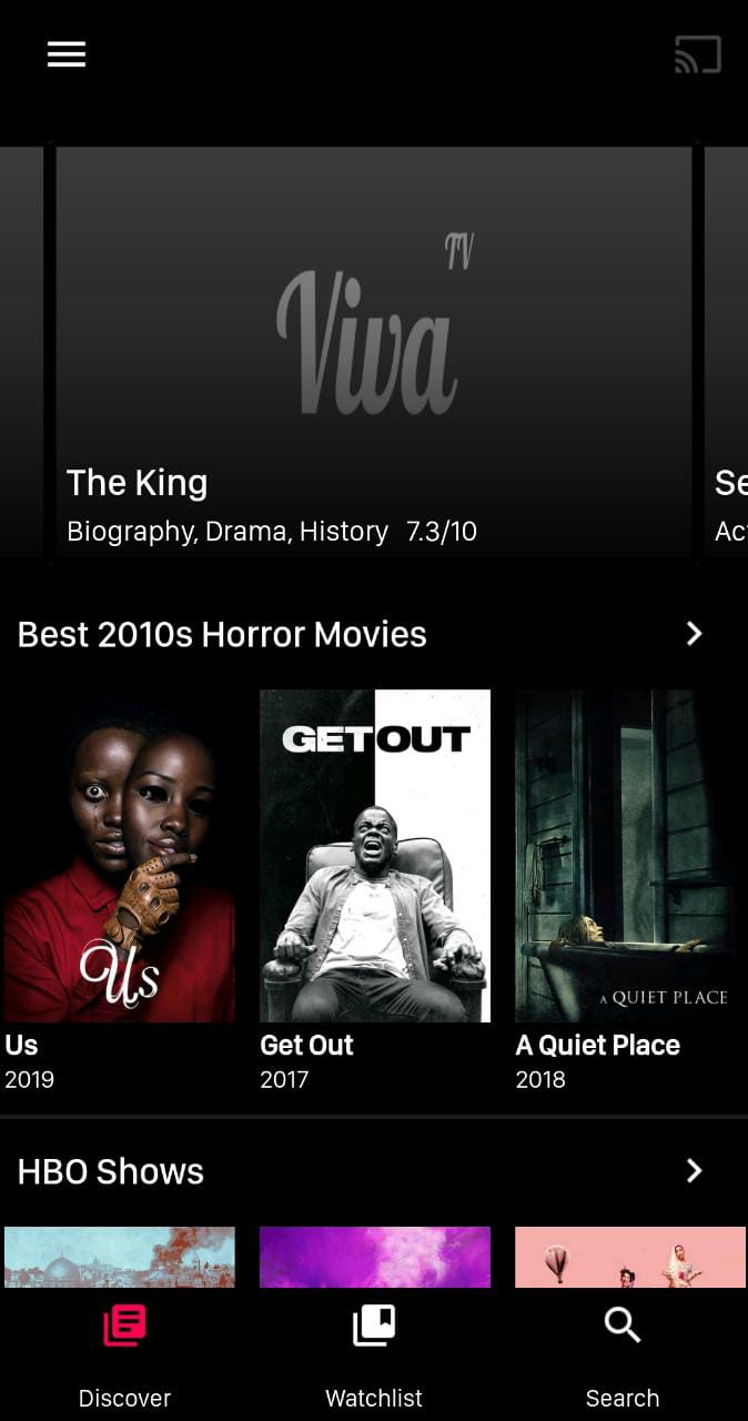 VivaTV App Download - User Interface