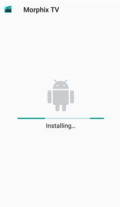Install Morphix TV App