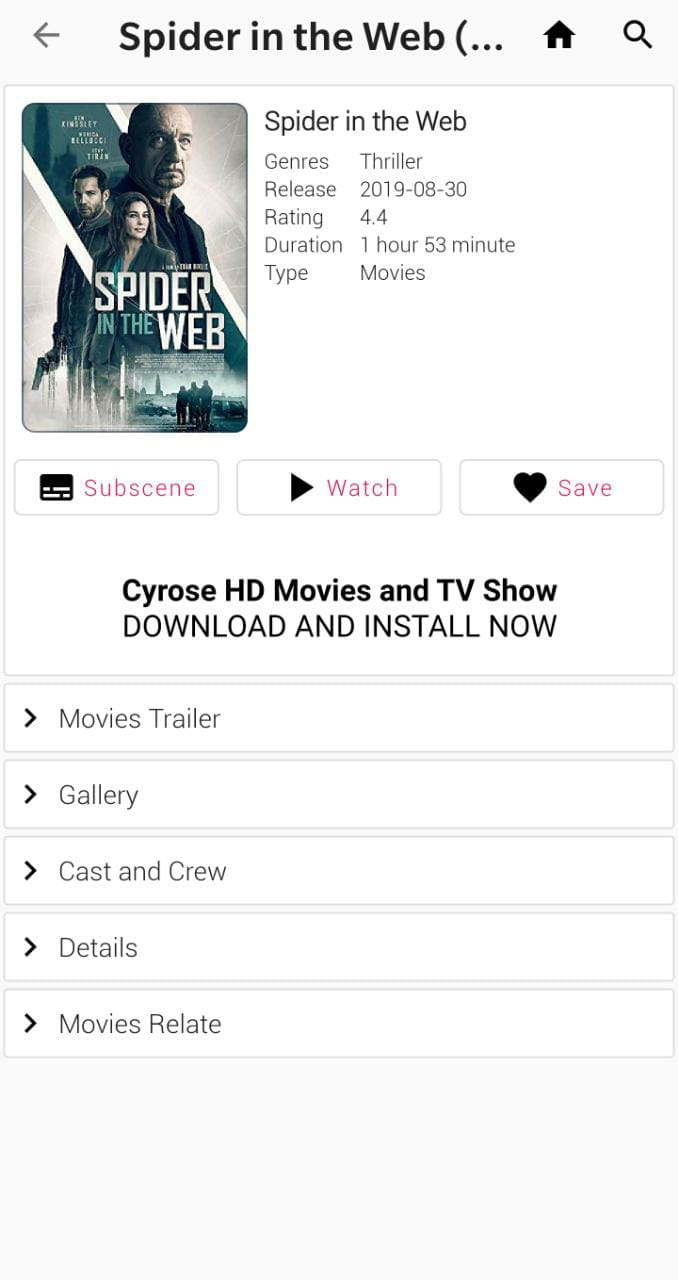 UPDATED CYROSE TV APK