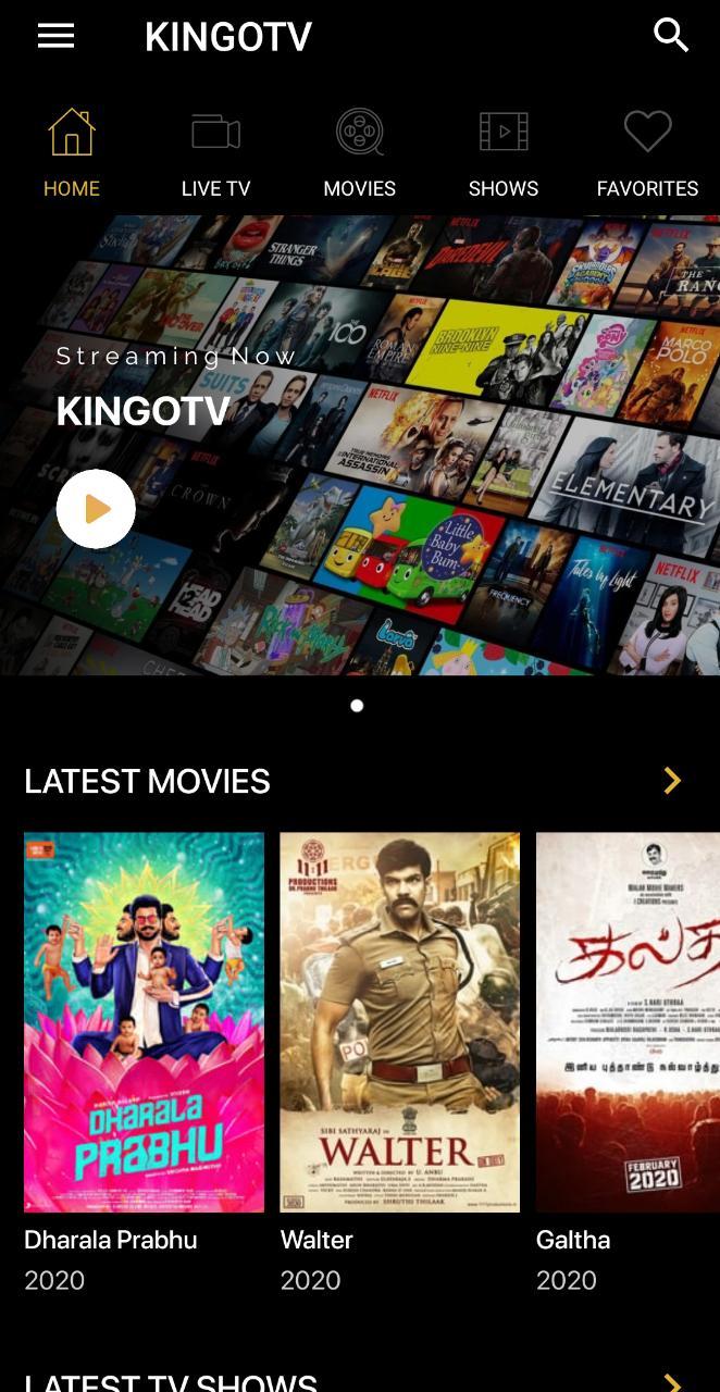 kingotv App APK
