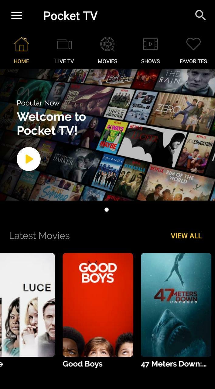 Watch Movies - Master Pocket TV App