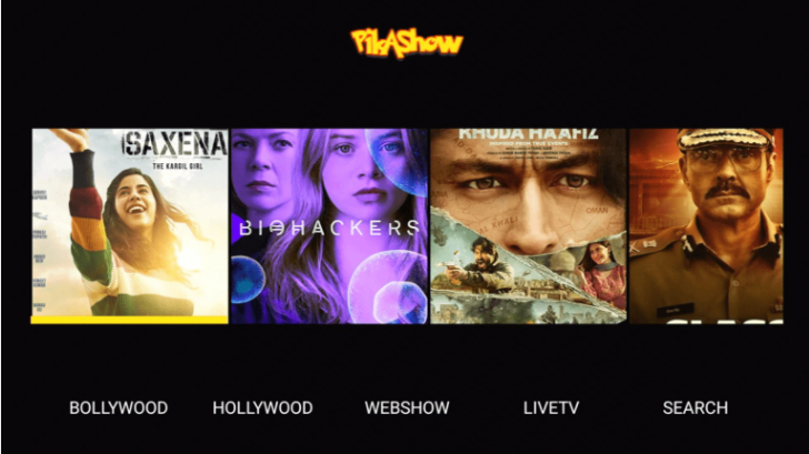 PikaShow APK Movies on FireStick