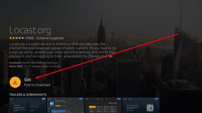Download Locast App on FireStick & Fire TV Cube