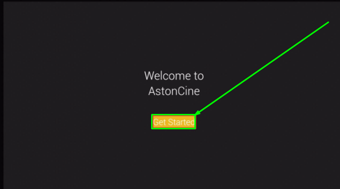 AstonCine App Installed & Launched on FireStick