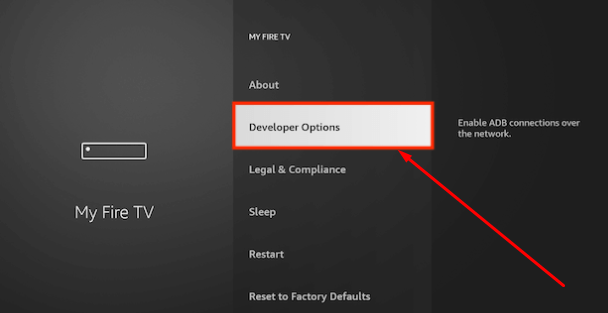 Developer Options - Enable Unknown Sources